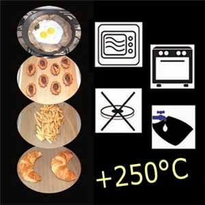 Cooking Liner Black 60X40 (20pcs)