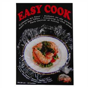 Easy Cook 25Feuilles Cuisson 38x38cm