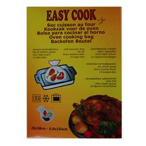 Easy Cook Sac Cuisson 38x25 cm (10 pcs)